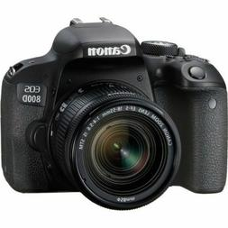Canon EOS Rebel 800D / T7i 24.2MP Digital SLR Camera w/ EF-S