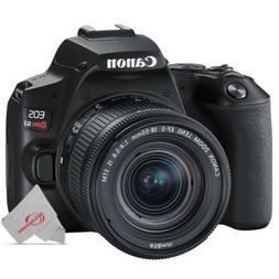 Canon EOS Rebel SL3 DSLR Camera with 18-55mm Lens - Black