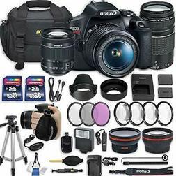 Canon EOS Rebel T7 DSLR Camera with  Lenses + Accessory Bund