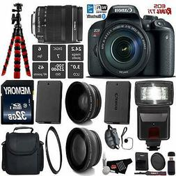 Canon EOS Rebel T7i DSLR Camera with 18-135mm is STM Lens +
