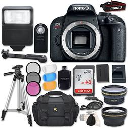 Canon EOS Rebel T7i DSLR Camera  + Accessory Bundle