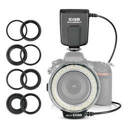 Meike FC-100 Macro Ring Flash Light for Canon Nikon Olympus