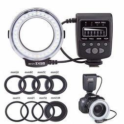 fc 100 macro ring flash light