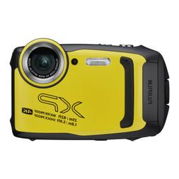 Fujifilm FinePix XP140 Digital Camera Yellow + 16GB SD Card