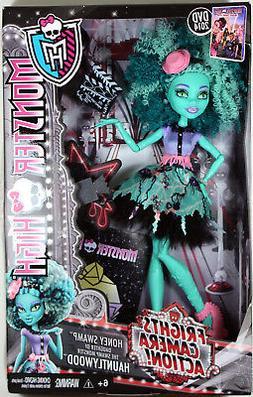 Monster High Frights, Camera, Action! Honey Swamp Doll