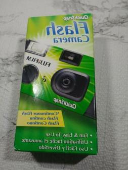 FugiFilm Quick Snap Flash Camera fugicolor 400 speed Film