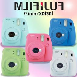 Fuji Instax Mini 9 Fujifilm Instant Film Polaroid Camera All