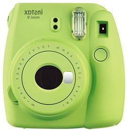Fuji Instax Mini 9 Fujifilm Instant Film Camera Lime Green
