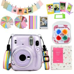 For Fujifilm Instax mini 11 Camera Bag Case Cover + Album +