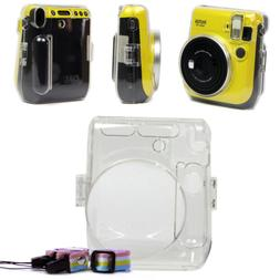 Crystal Clear Hard Case Cover Shell Bag For Fujifilm Instax