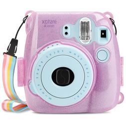 For Fujifilm Instax Mini 8 Mini 8+ Mini 9 Camera Case Crysta