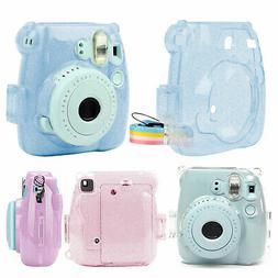 For Fujifilm Instax Mini 9 Camera Case Crystal Hard PVC Cove