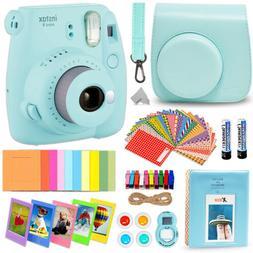 Fujifilm Instax Mini 9 Instant Fuji Camera  + Accessories Bu