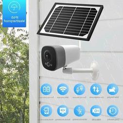 FULL HD1080P Solar Powered Wireless Outdoor WIFI Surveillanc