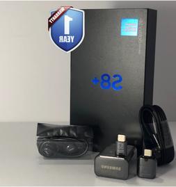 SAMSUNG GALAXY S8+PLUS 64GB SM-G955U1 BLACK FACTORY UNLOCKED