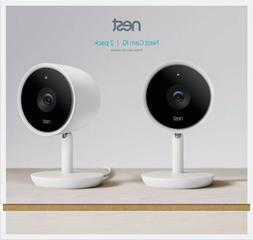 Google - Nest Cam IQ Indoor Full HD Wi-Fi Home Security 2-Pa