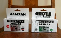 Ilford Harman Black & White  Disposable Cameras w/Flash - Co