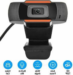 HD 1080P Webcam with Microphone Fast Autofocus Webcam USB Co