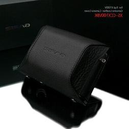 Gariz HG-CCX100VBK Add-On Cover Genuine Leather for Fuji X10