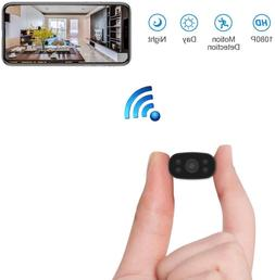 Hidden Security Cameras Mini Spy Cam 1080P Hd Wifi Remote Vi