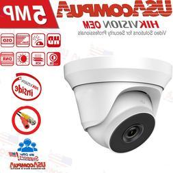 HIKVISION 5MP CAMERA  BNC HD-TVI 2.8mm Turret Security Camer