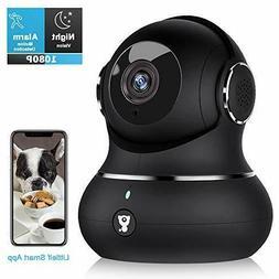 Home Security Camera,  Littlelf 1080P Indoor Wireless WiFi B