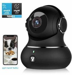 Home Security Camera,1080P Indoor Wireless WiFi IP Camera-FR