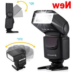 Hot Shoe Mount Flash Wireless Speedlite Light For Canon Niko
