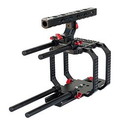 CAMTREE Hunt Camera cage for Red Scarlet 15mm rail rod Tripo