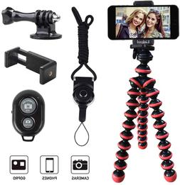 I Phone Android camera Tripod, Octopus with Wireless Remote