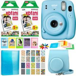Fujifilm Instax Mini 11 Instant Camera | 2 Twin Pack Film |