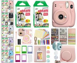 Fujifilm Instax Mini 11 Instant Film Camera All Colors + 40