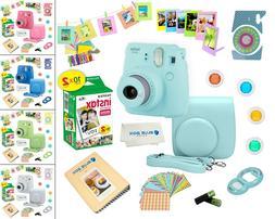 Fujifilm Instax Mini 9 Instant Camera + 20 Fuji Film Sheets