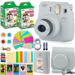 FujiFilm Instax Mini 9 Instant Camera + 40 Fuji Film + Large