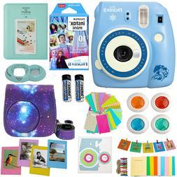 Fujifilm Instax Mini 9 Instant Camera Disney Frozen 2 + 10 F