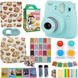 Fujifilm Instax Mini 9 Instant Camera + fuji 20 Film, Emoji