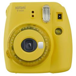 Fujifilm instax mini 9 Instant Film Camera - Yellow