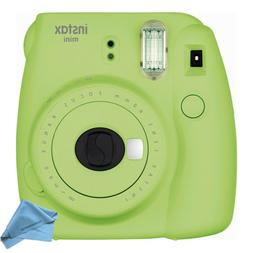 Fujifilm instax mini 9 Instant Film Lime Green Camera with C