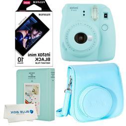 Fujifilm Instax Mini 9 Polaroid Ice Blue Instant Camera Case