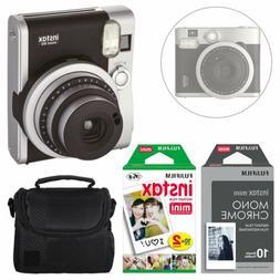 Fujifilm INSTAX Mini 90 Neo Instant Camera  + Instax 20 + Fi