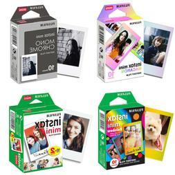 Fujifilm Instax Mini Film Fuji Instant 8 9 Photo Sheets For