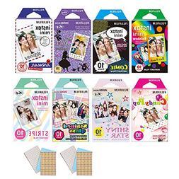 80 Sheets Fujifilm Instax Mini Instant Film For Mini SP-1 90