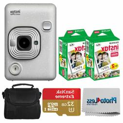 FUJIFILM INSTAX Mini LiPlay Hybrid Instant Camera  + Valued