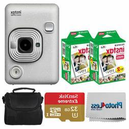 FUJIFILM INSTAX Mini LiPlay Hybrid Instant Camera  + Valued