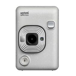 Fujifilm - instax mini LiPlay Instant Film Camera - Stone Wh