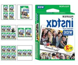 Fujifilm Instax Wide Fuji Instant Film Sheets for Wide 300 &
