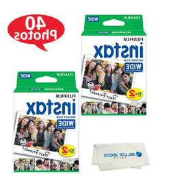 Fujifilm instax Wide Instant Film for use with Wide 300, 200