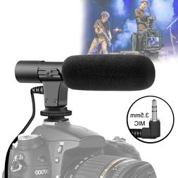 Interview Video Recording Camera Condenser Microphone For DS