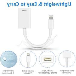 """for iPad 7th Gen iPad 10.2"""" 2019 Lightning to USB OTG Camera"""