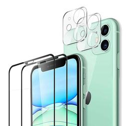 For iPhone 11 /11 Pro Max Full Cover Tempered Glass Camera L